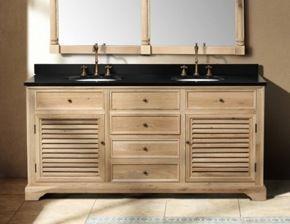 71 Natural Oak Finish Double Bathroom Vanity 65 71 Double