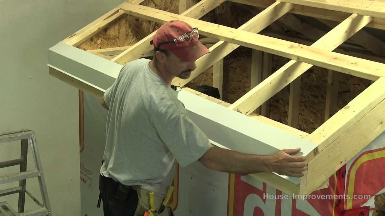 How To Build A Shed - Part 4 Installing Sheet Metal Roof ( playlist)
