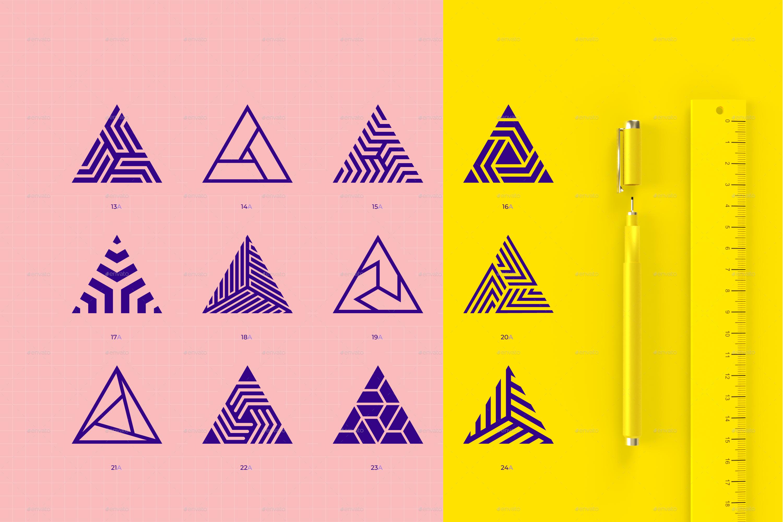 96 Geometric Shapes Logo Marks Geometric Shapes Geometric Logo Logo Mark