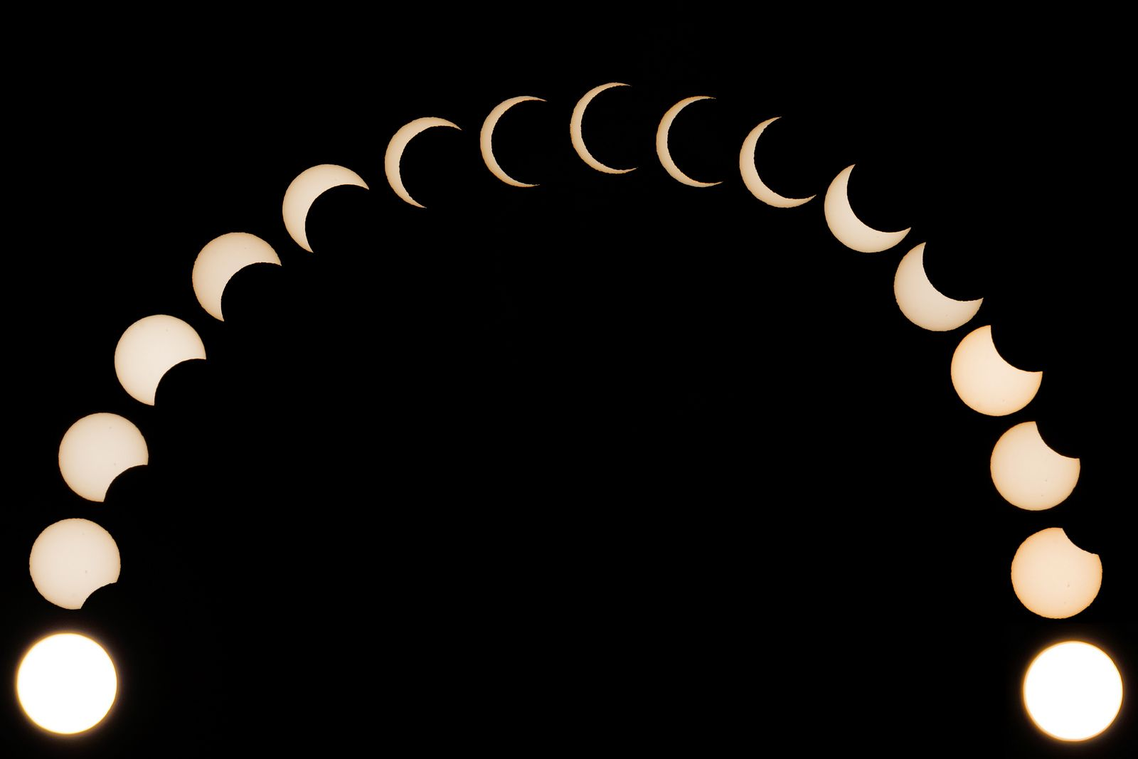 S Solar Eclipse In Pictures