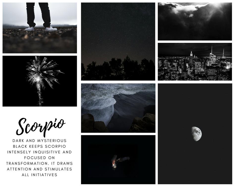 47991d2c2 Scorpio Zodiac Sign Mood Board #scorpio #zodiacsigns #moodboards #aesthetic
