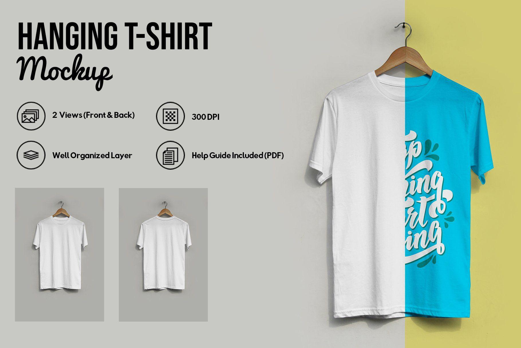 Download Hanging T Shirt Mockup Shirt Mockup Tshirt Mockup Colorful Shirts