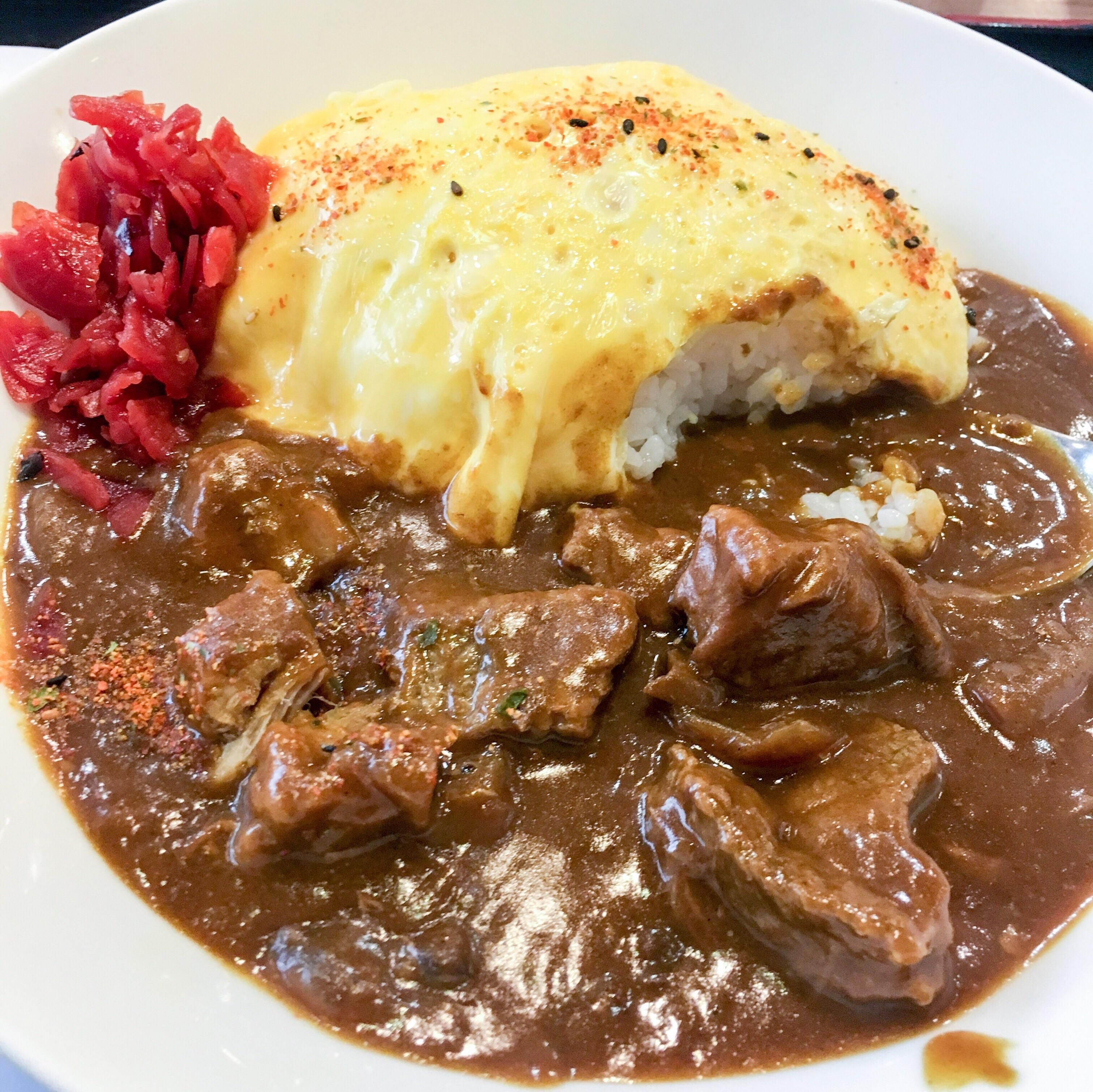 Homemade Omurice Japanese Omelette Rice With Beef Curry Amp Ginger Pickles Recipes Food Cook Omurice Recipe Omurice Recipe Japanese Easy Asian Recipes