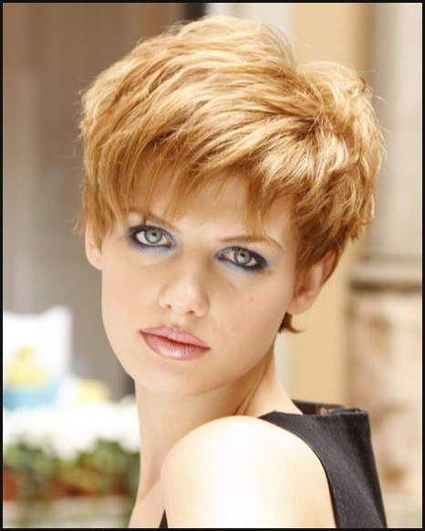 Freche Kurzhaarfrisuren Frauen Einfache Frisuren Modele Coiffure