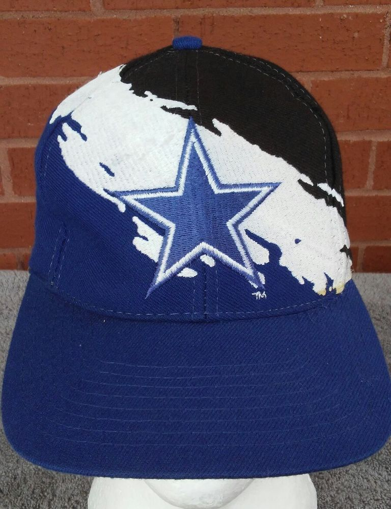 354854b2793ce Dallas Cowboy LOGO ATHLETIC NFL Splash Logo Vintage Snapback Hat Cap 90s   logoathletic  dallascowboys