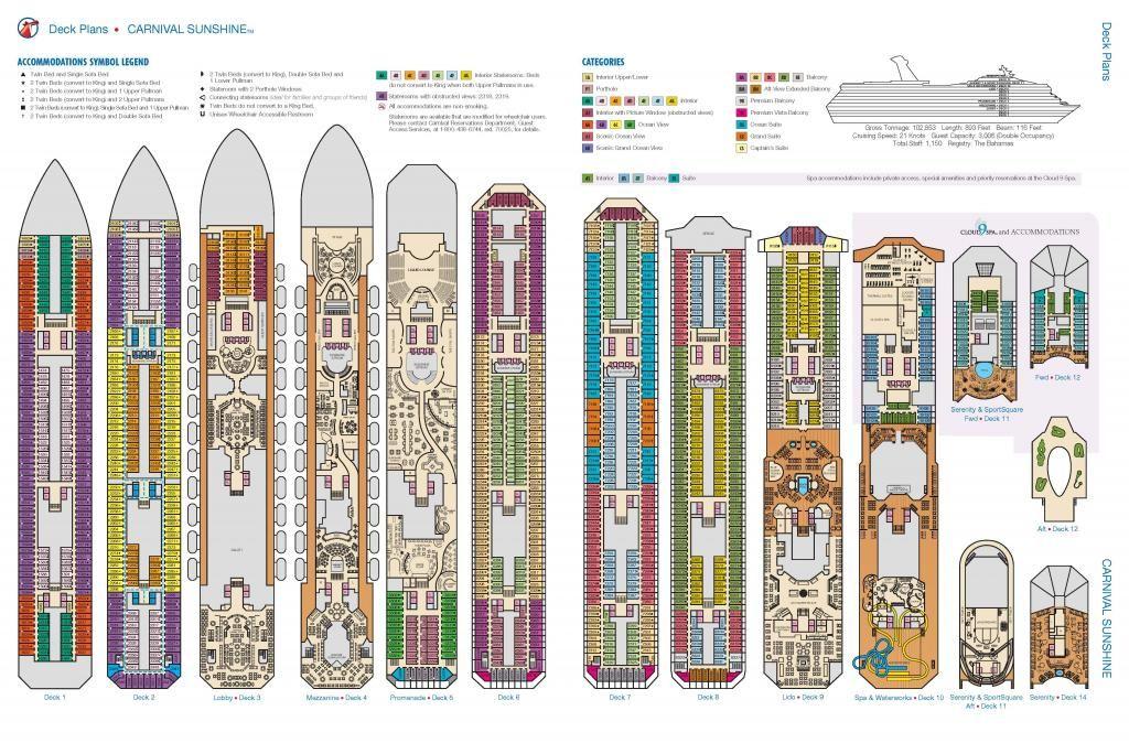 Carnival Breeze Floor Plan Matttroy