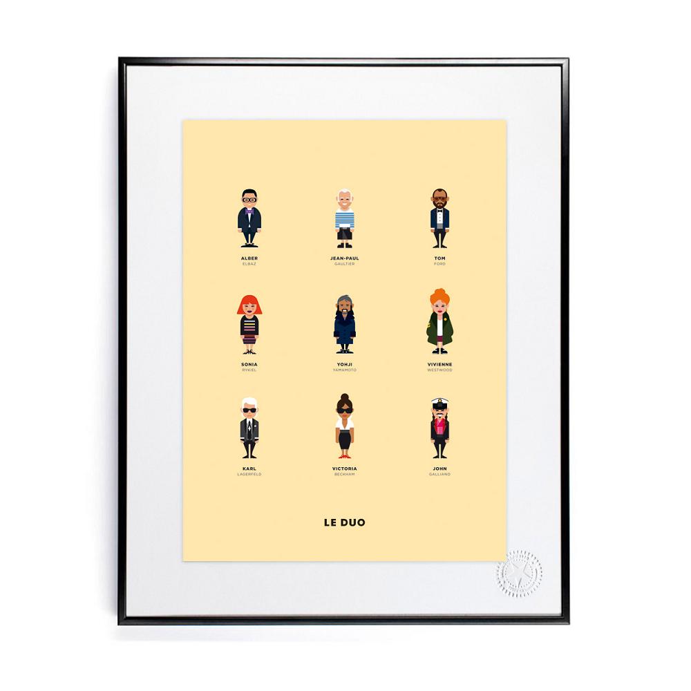 Image Republic Plakat 30 x 40, Le Duo, Designers   Poster ...