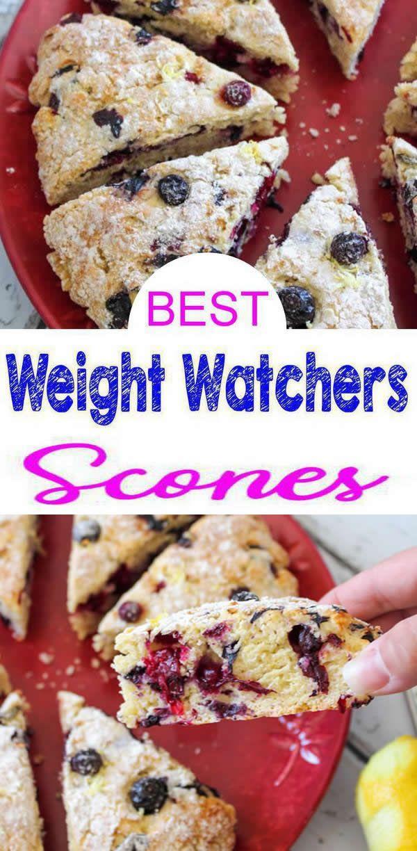 Photo of Weight Watchers Lemon Blueberry Scones – BEST WW Rezept – Frühstück – Leckerei – Snack mit Smart Points