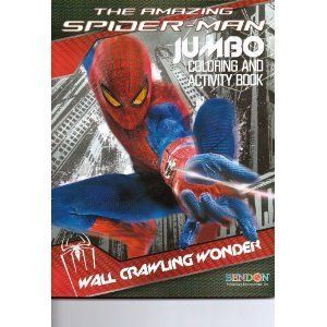 The Amazing Spider Man Jumbo Coloring Activity Book Wall Crawling Wonder By Bendon 5 99 96 Pgs Upc 805219028353 S Spiderman Book Activities Book Wall