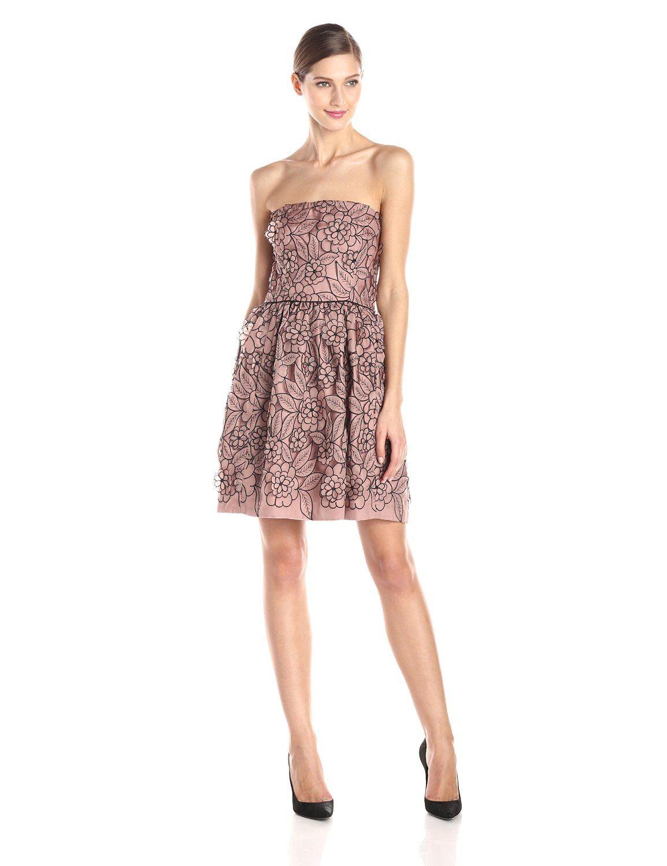 d4d6f24de0f Strapless Cut-Out Fit and Flare Dress by Jill Jill Stuart