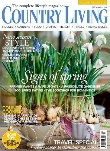 Country Living England Magazine Subscription National Magazine Company Ltd Http Www Amazon Com Dp Country Living Uk Country Living Country Living Magazine