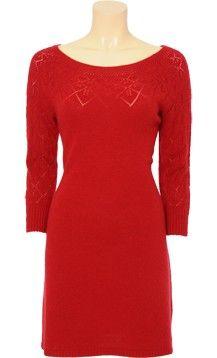 Rode Wollen Jurk.King Louie Rode Wollen Jurk Dress Red Of Rode Jurkjes Wollen