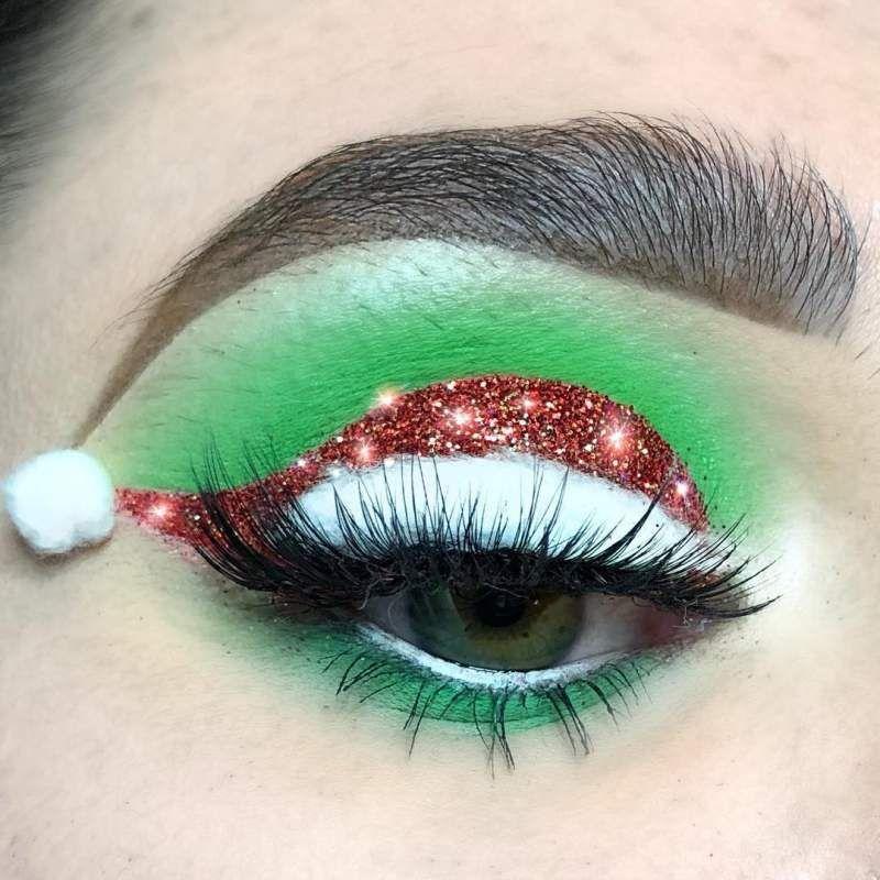 Christmas Eye Makeup ideas/inspirations – Fashionable, Fascinating & Fresh – Hike n Dip