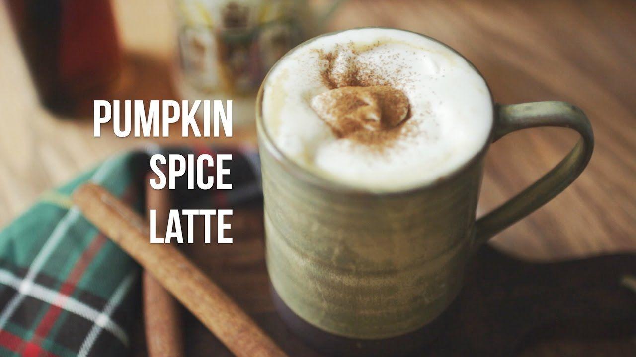 Pumpkin spice latte / 단호박 라떼 (펌킨스파이스 라떼)