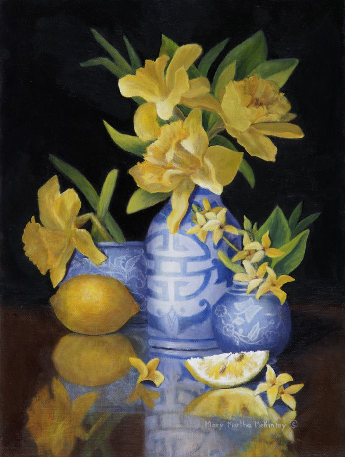 "Still life Mary Martha McKinley Fine Art | Click the ""about"" tab for information about the artist."