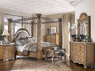ASHLEY furniture millennium King south Shore poster CANopy BED French Ohio For sale now on ebay & Microsoft Xbox One S 500GB Console - Gears of War u0026 Halo Special ...