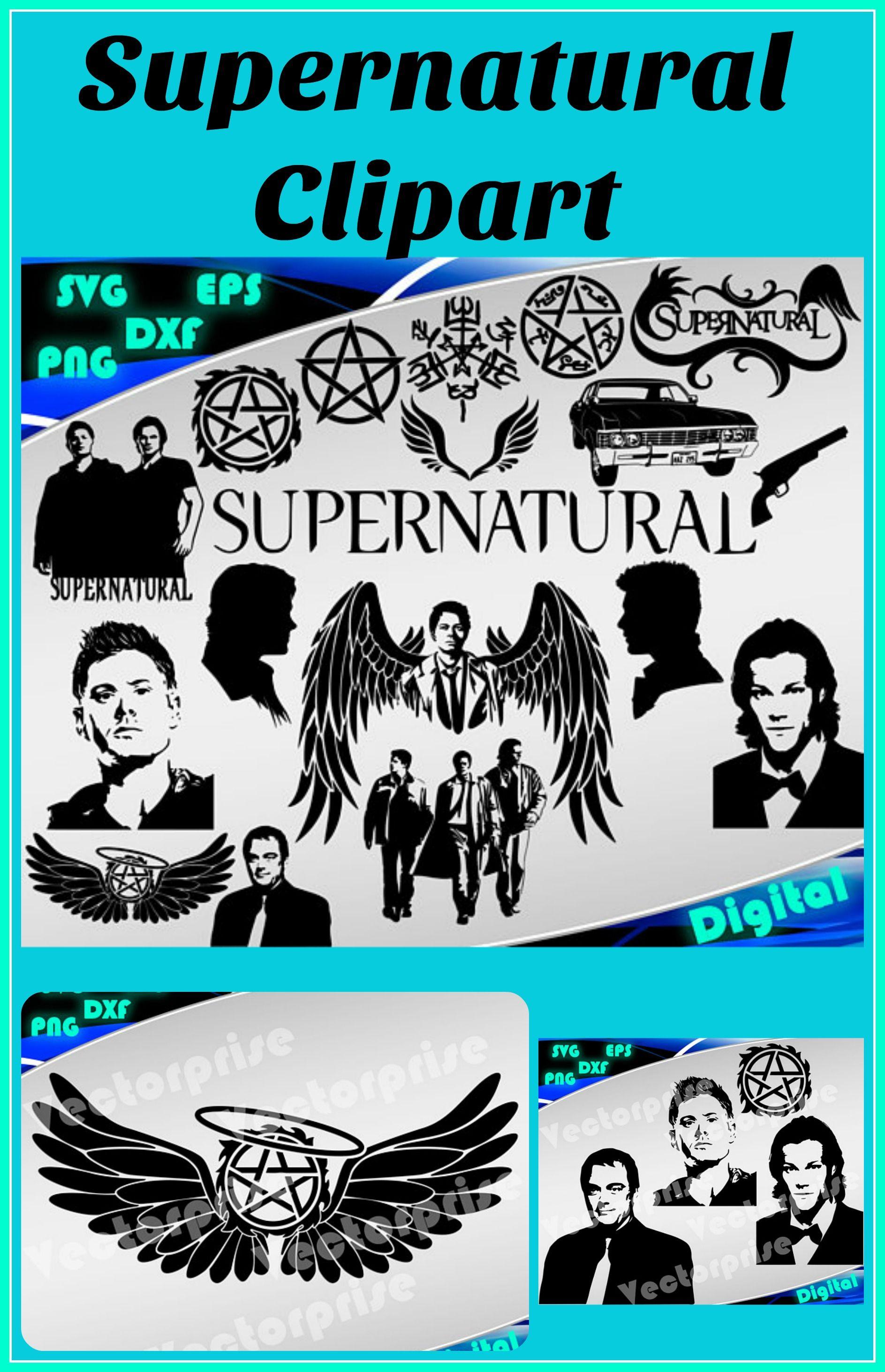 Supernatural svg Supernatural clipart svg Supernatural