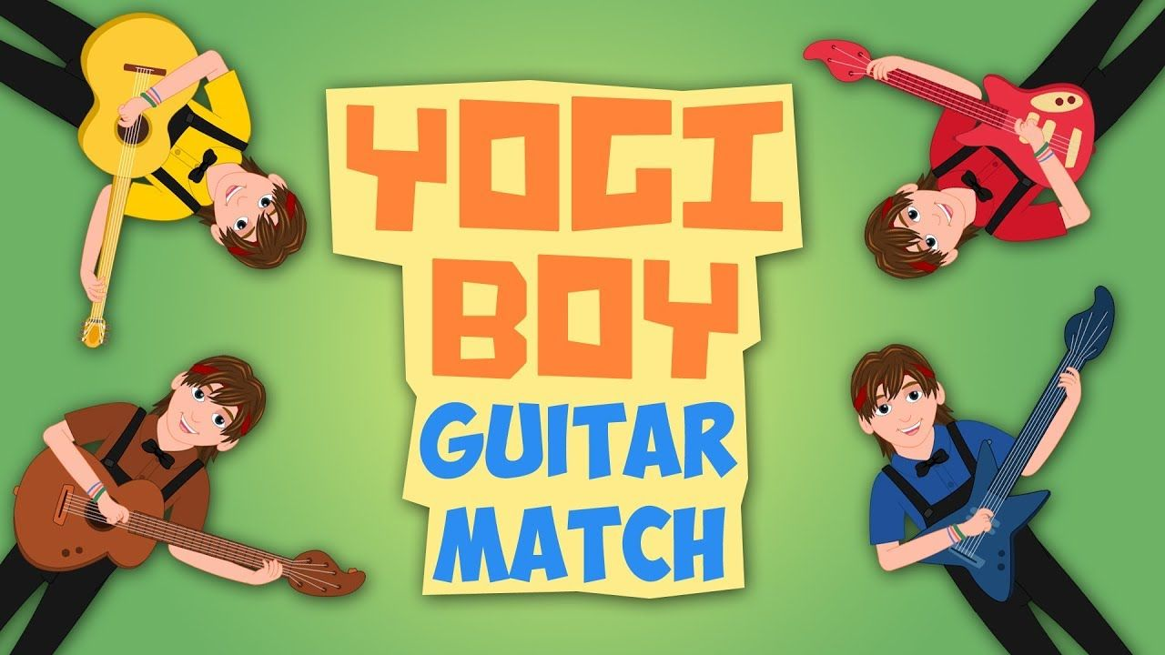 Learn Colors with Guitar - Color Song for Kids with Yogi Boy ...