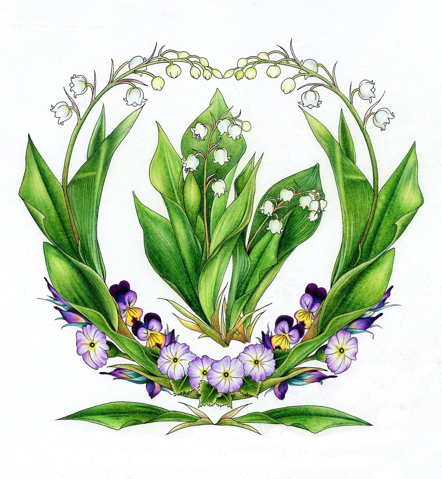 The french tradition of giving lily of the valley flowers muguet du the french tradition of giving lily of the valley flowers muguet du bois on may day is believed to have begun on may 1st 1561 when king charles ix of izmirmasajfo