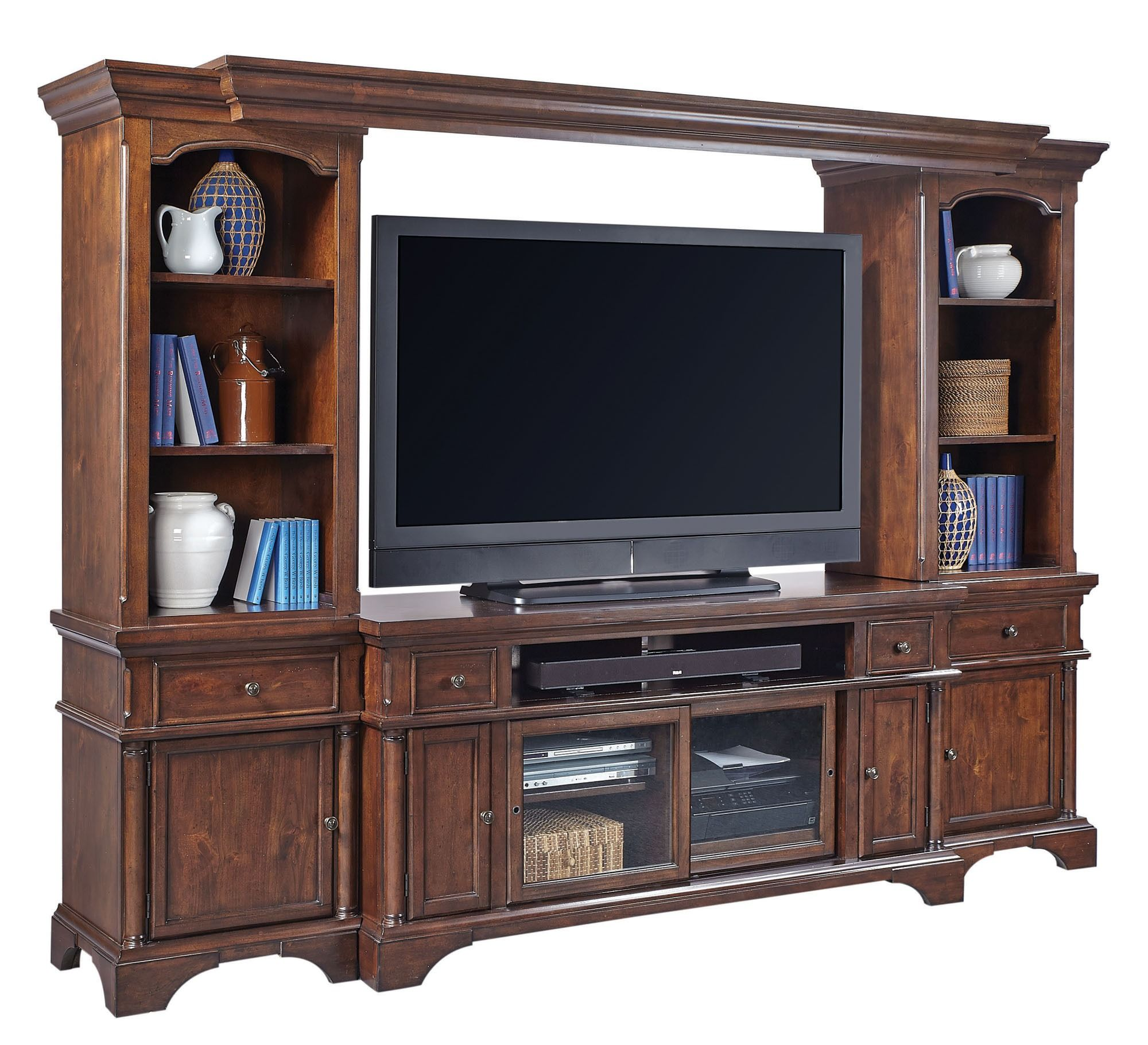 Bancroft Entertainment Wall | Aspen Home Furniture | Home Gallery Stores
