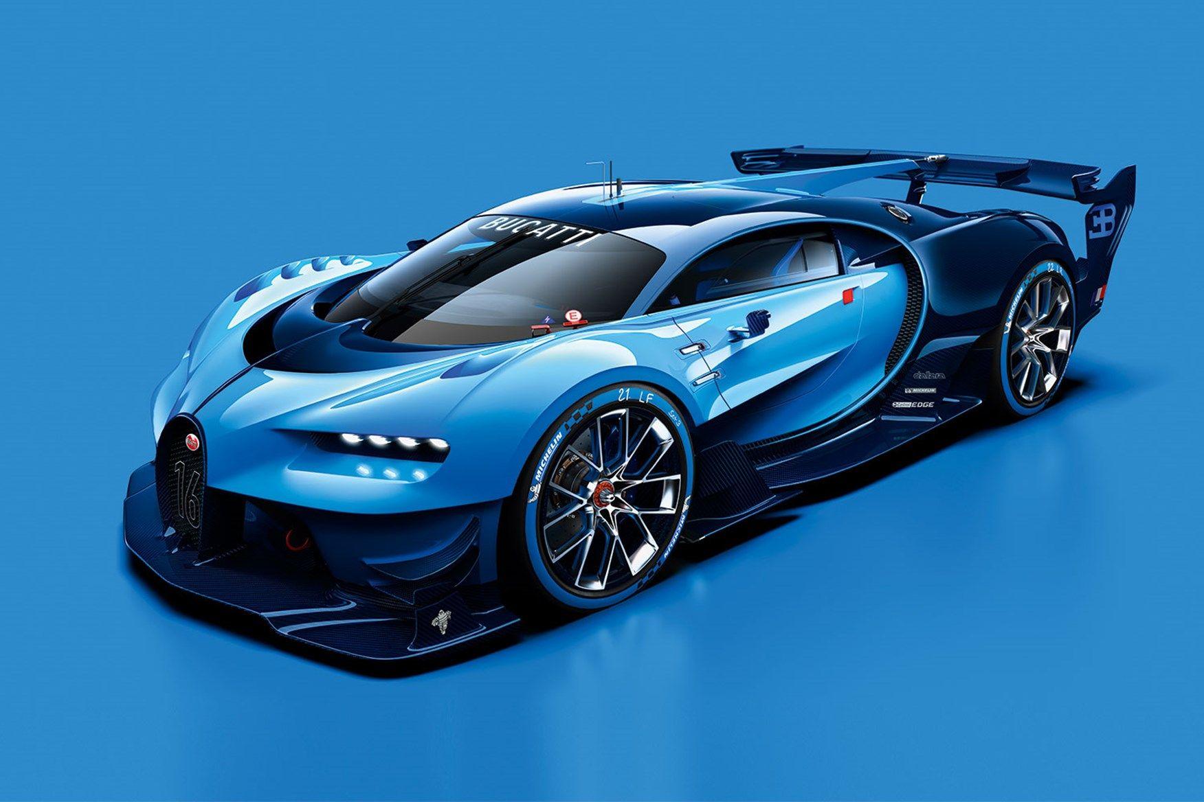 Bugatti Vision Gt Wallpaper Bugatti Vehicules Futuristes Voiture De Sport