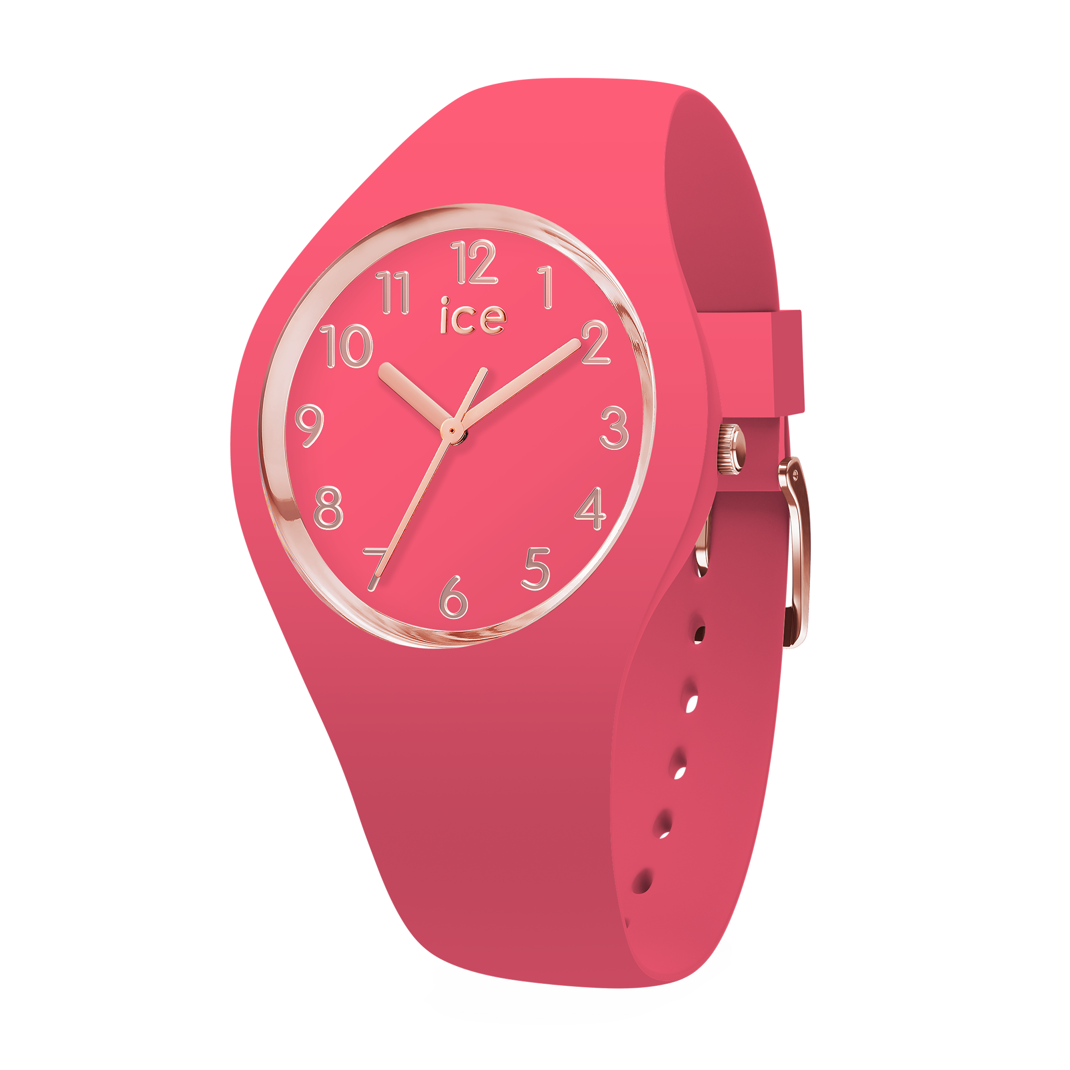 ICE glam colour raspberry in small  icewatch   Time waits for none ... ccf07c7434d2
