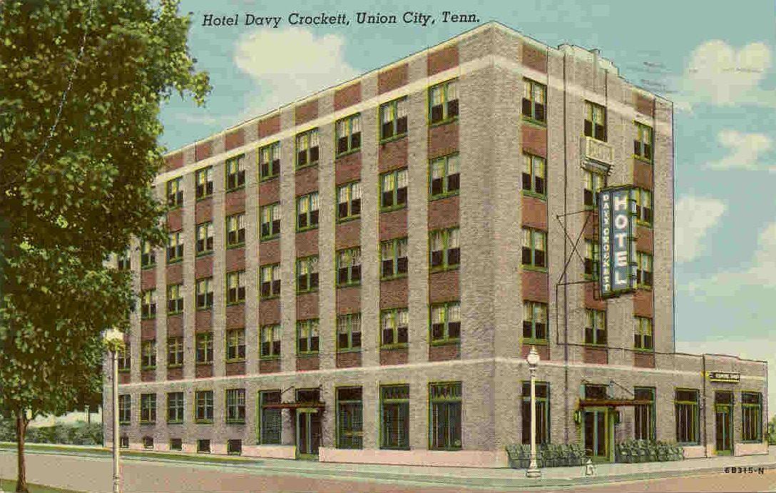 Davy Crockett Hotel Union City Tn Unionunion