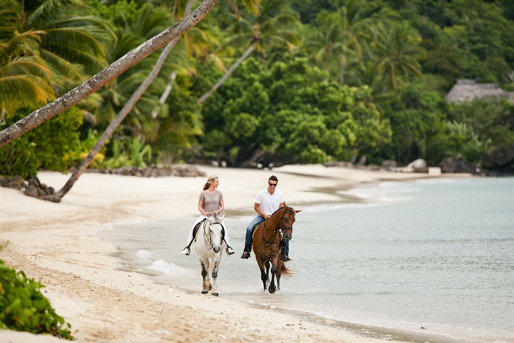 Horseback riding at the Laucala Island Resort, Fiji | Adventure of ...