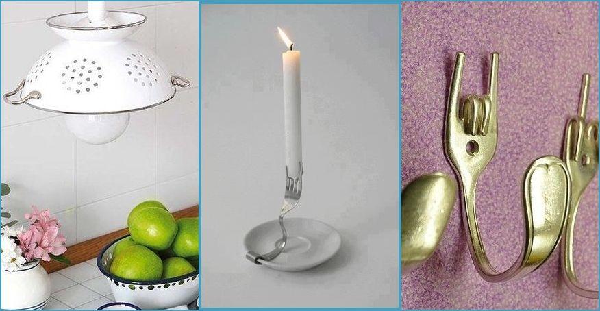 Recicla tus utensilios de cocina con estas originales ideas hogar cocina ideas - Utensilios de cocina originales ...