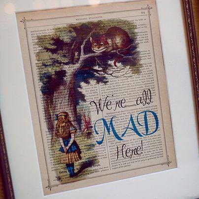 Karly & Jack's vintage-inspired Alice in Wonderland wedding | Offbeat Bride