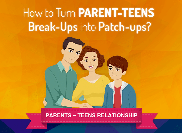 Parents in parent teen relationships did