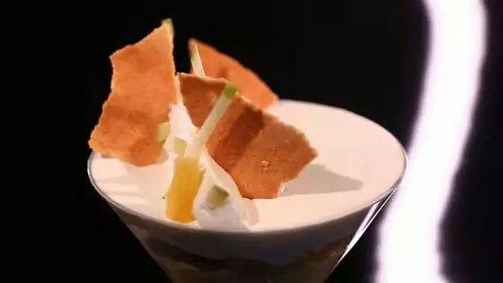 Verrine ananas noix de coco