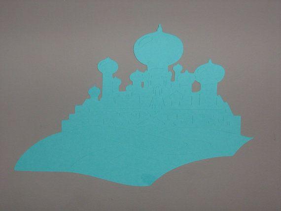 Diecut Princess Castle from AladdinBeauty by ThePaperdollPrincess