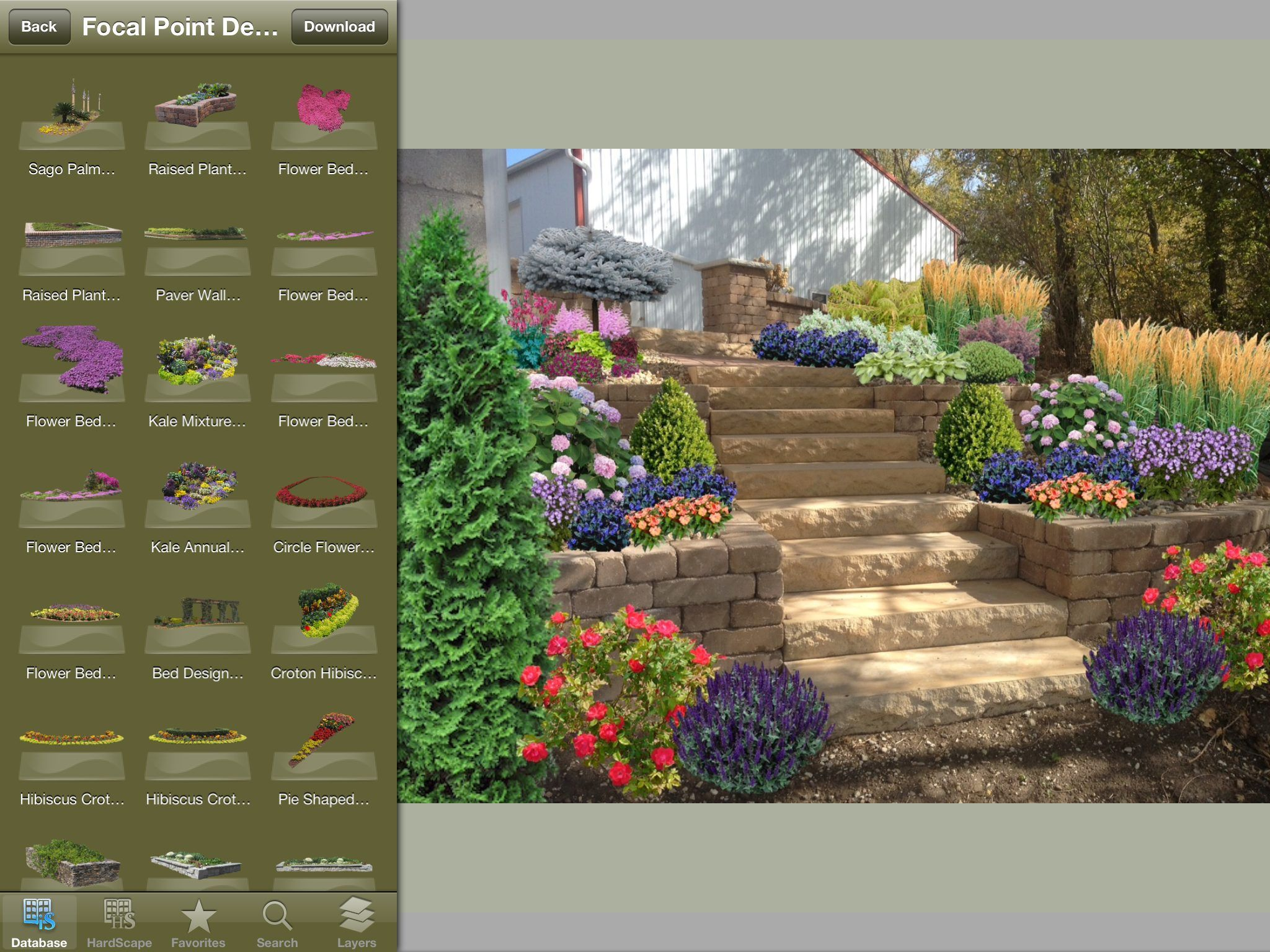 7 almost finished created with iscape a virtual landscape design