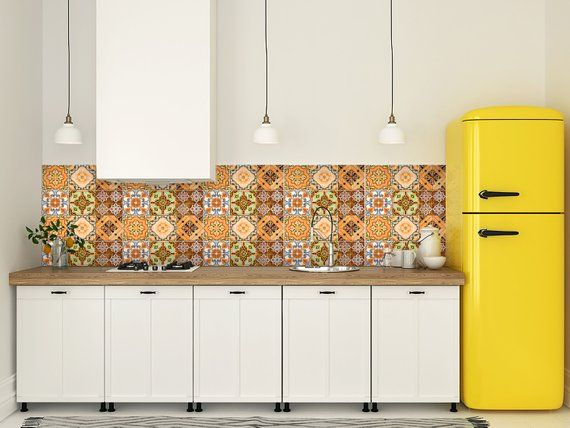 Tile Stickers Kitchen Decals Home Decor In 2019