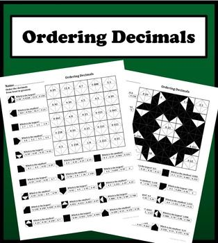 this worksheet contains  problems on ordering decimals from least  this worksheet contains  problems on ordering decimals from least to  greatest