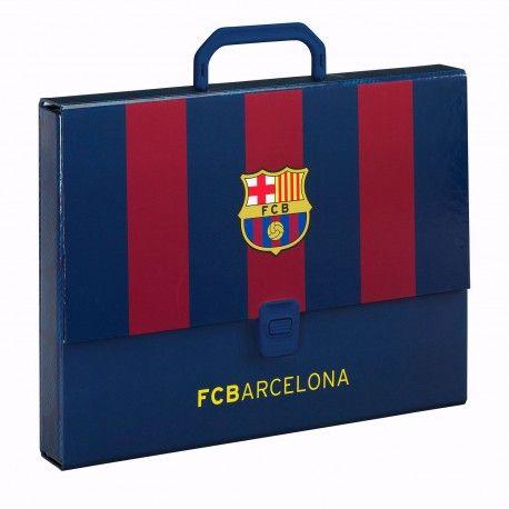 Maletín cartón rígido f. c. barcelona  aa2ea08be0a