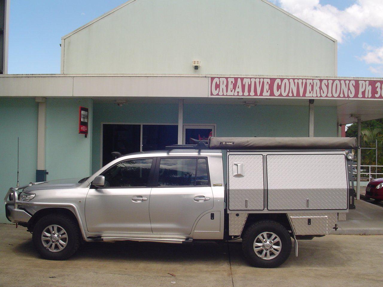 Creative conversions toyota landcruiser 200 series extended wheelbase ute conversion