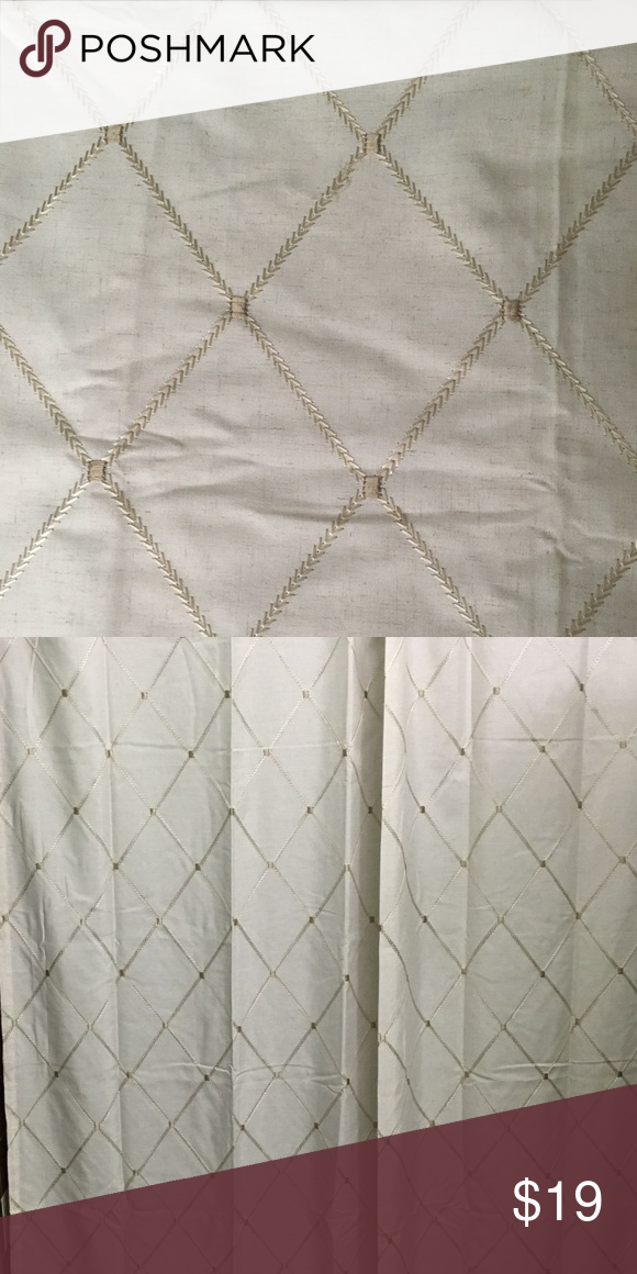 Beige & Gold Shower Curtain Tan & Gold Shower Curt