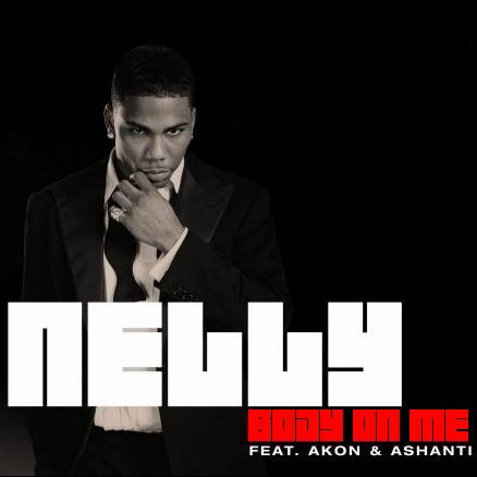 Nelly, Akon, Ashanti – Body on Me (single cover art)