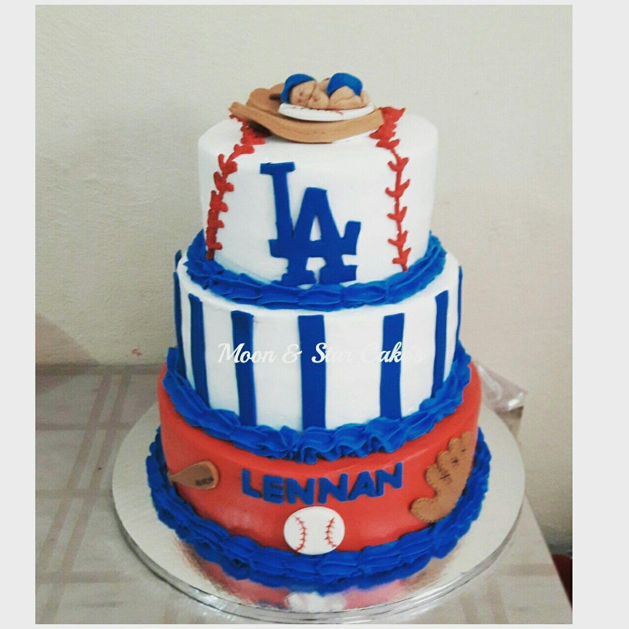 Pastel De Baby Shower Niño Tema Beisbol Https://www.facebook.com