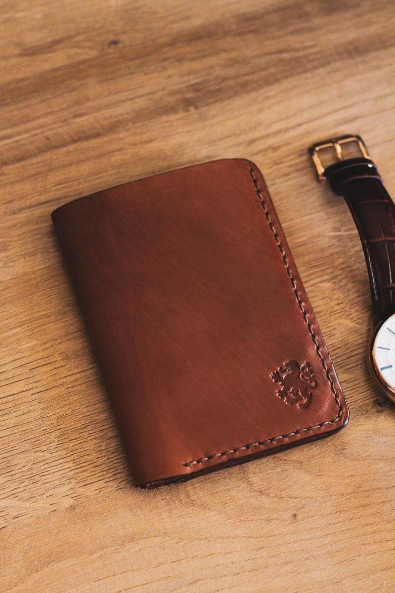 Mens Wallet Wallets For Men Business Card Case Minimalist Etsy Custom Mens Wallets Leather Wallet Mens Wallet Men