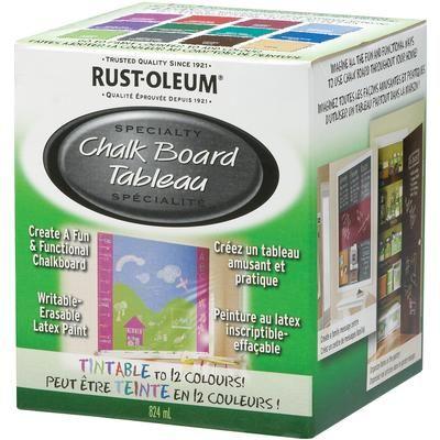 Rustoleum Tintable Chalkboard Paint 21 49 New Home Decor
