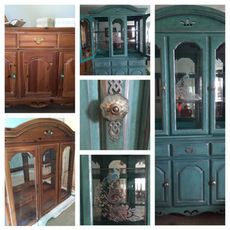 American Drew Vintage light up China Cabinet
