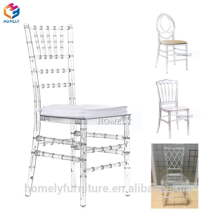 cheap sale ghost wedding hotel silla white crystal clear transparent