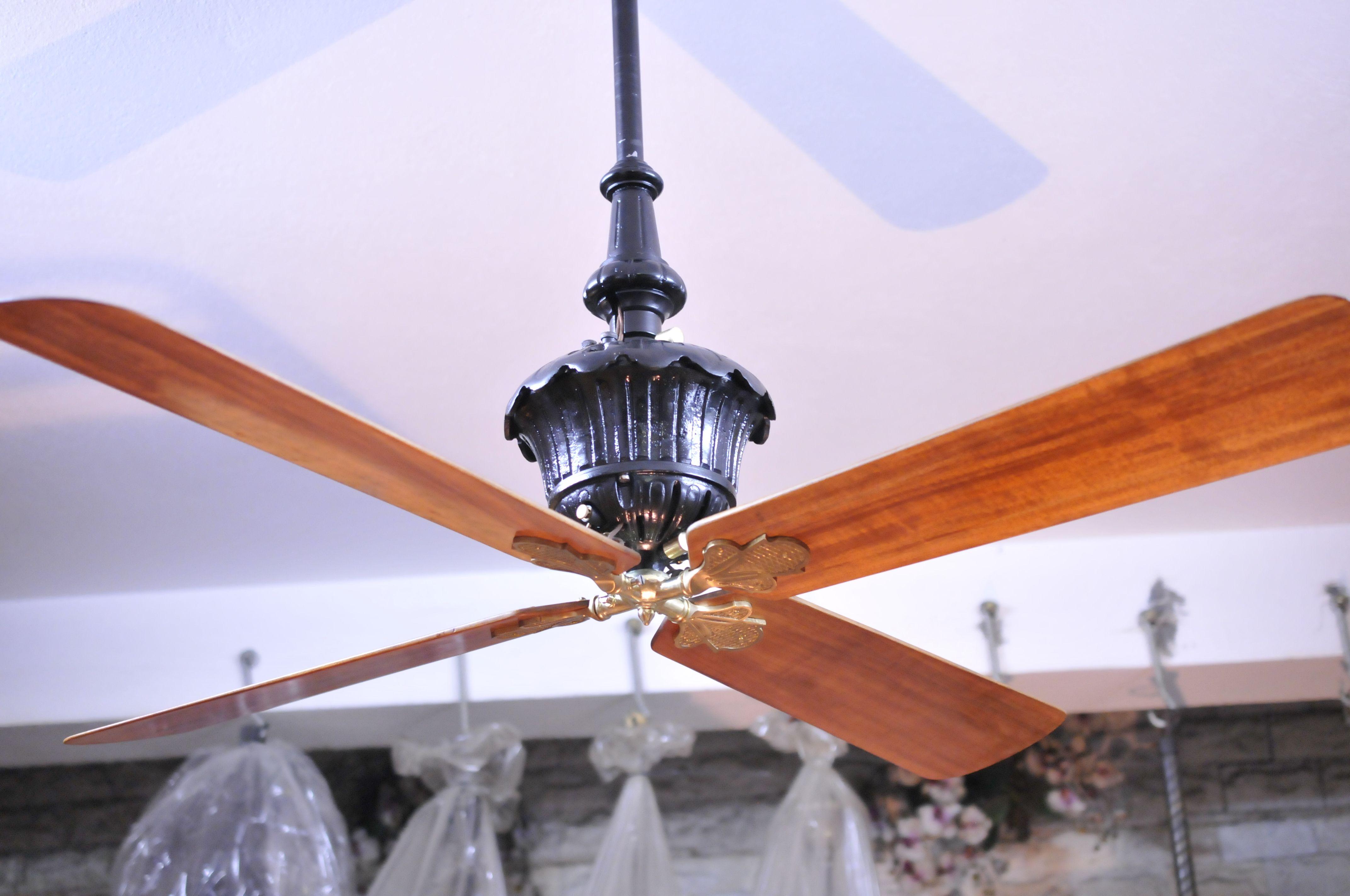 Marelli Breva ceiling fan Antique ceiling fans