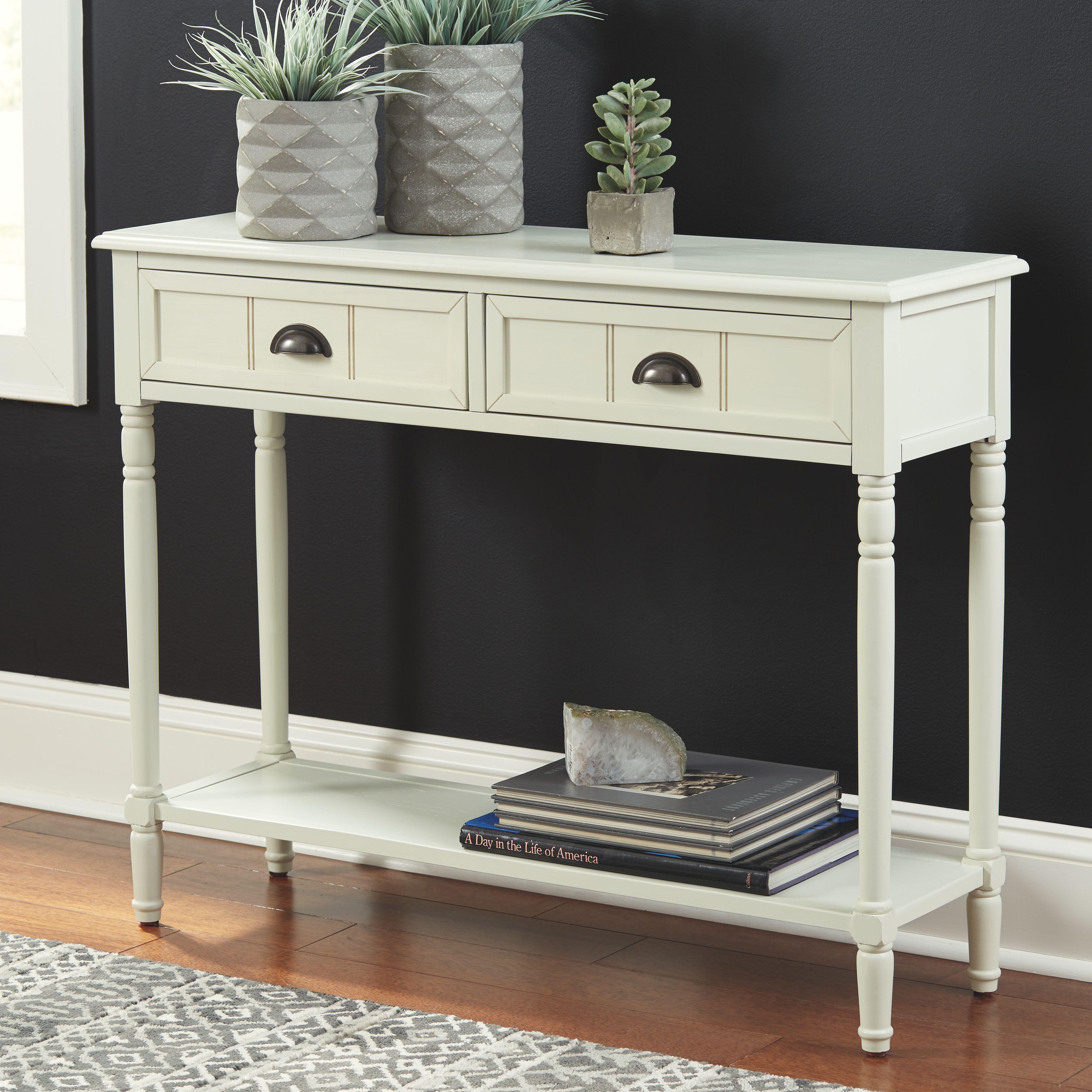 Goverton Sofa Console Table White Console Table Sofa Table