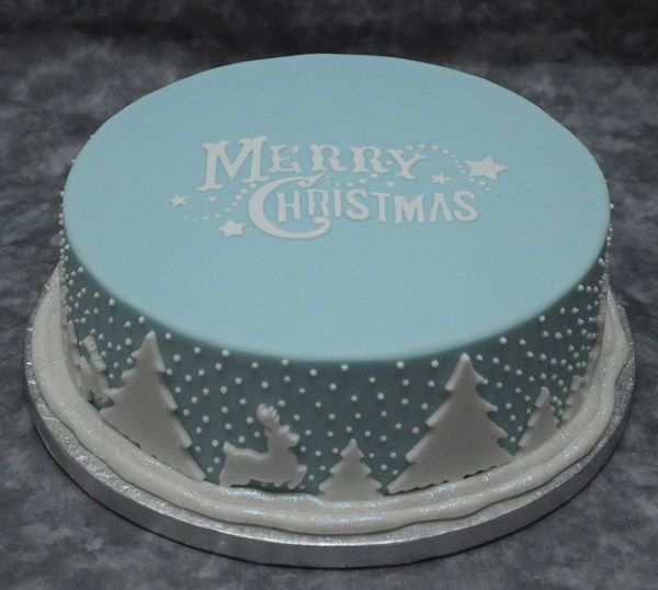 Best Cake Decorating Fondant : 10 Christmas Cake Designs You ll Love Cake, Xmas and ...