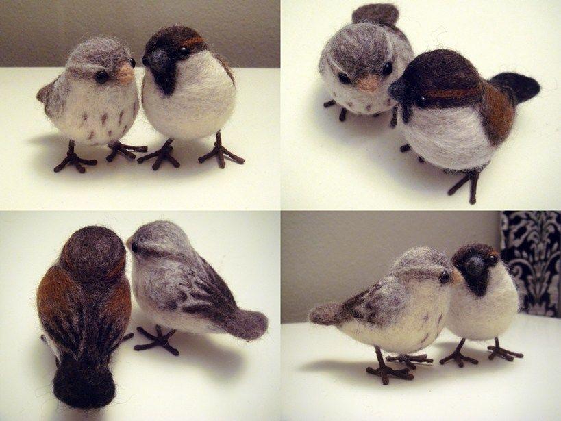 How To: Needle Felted Birds #feltbirds