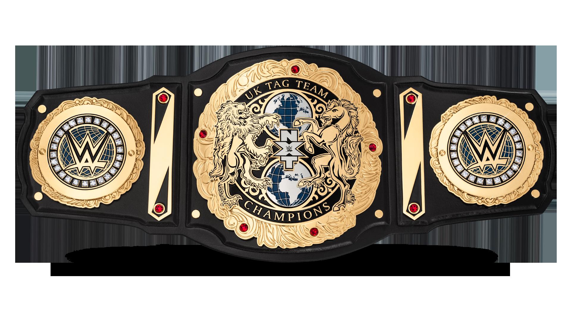 Custom NXT Tag Team Championship Title Belts Leather wrestling figures WWE WWF